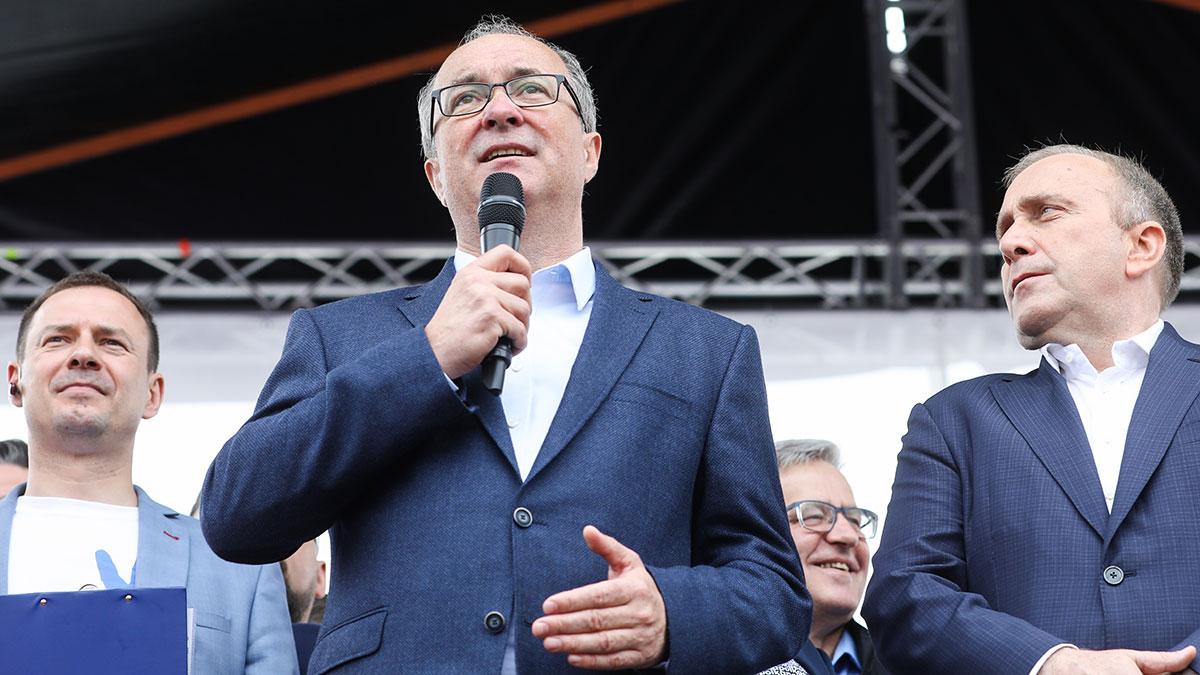 Włodzimierz Czarzasty i Grzegorz Schetyna. Foto: Platforma Obywatelska RP