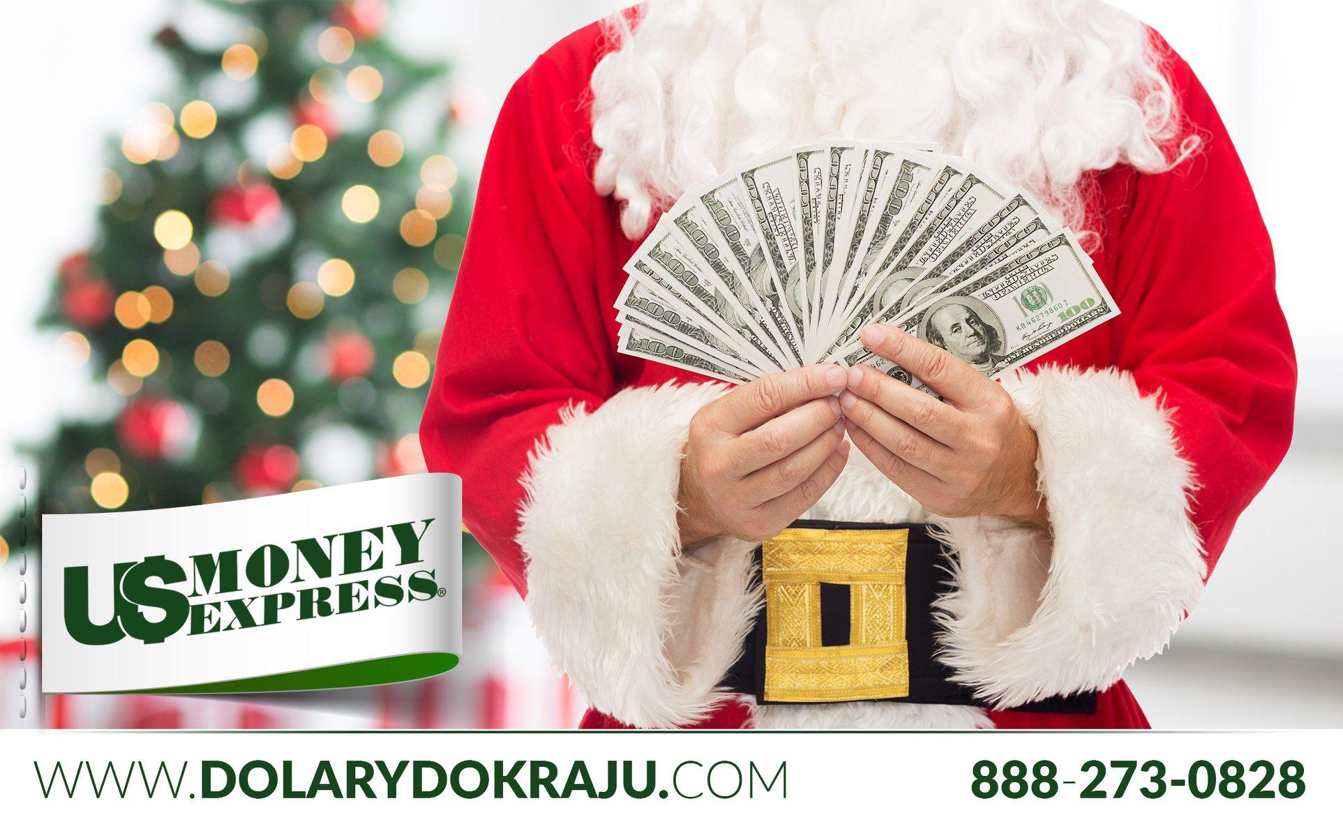 Najlepszy prezent w tym roku to przekazy pieniędzy do Polski z US Money Express!