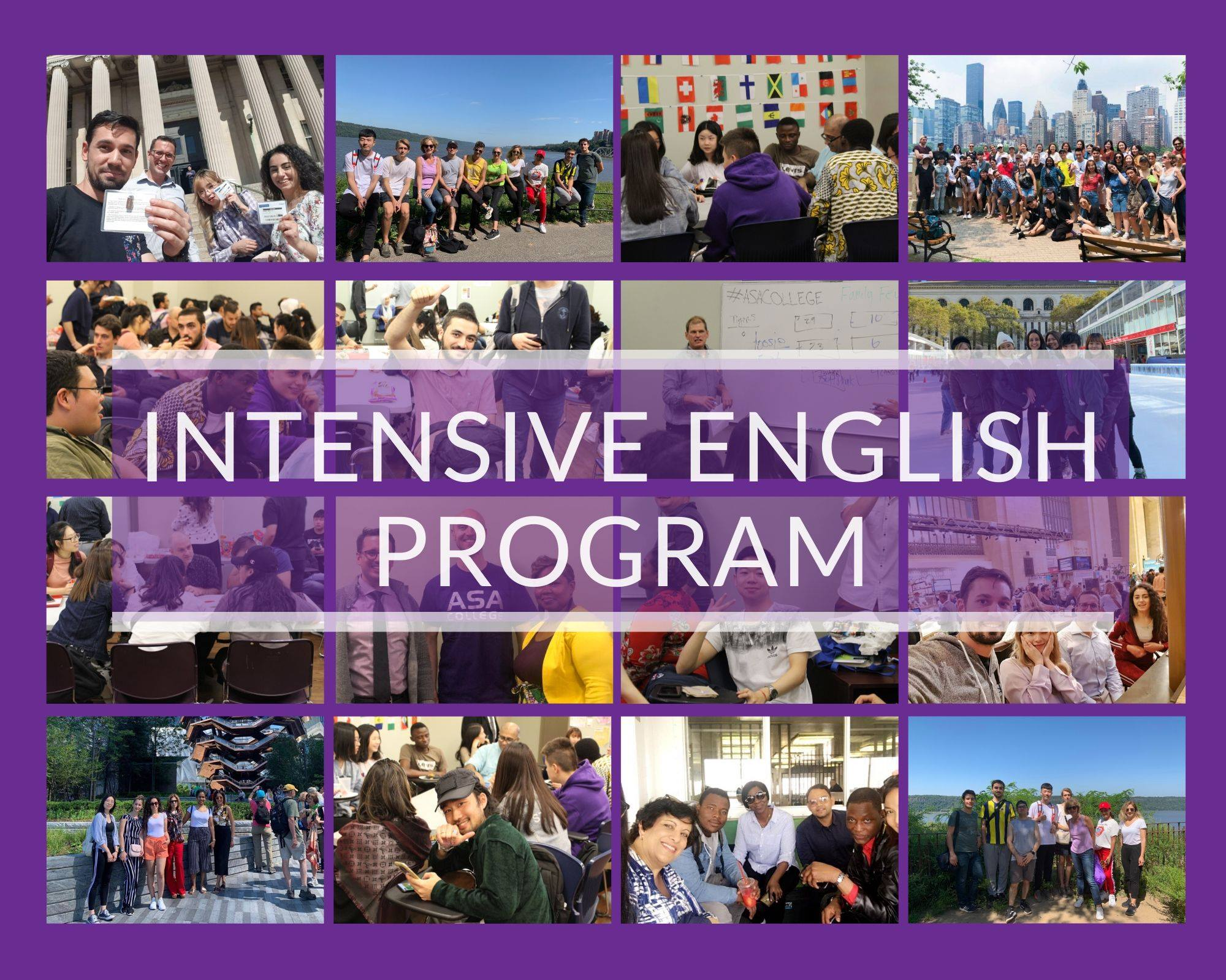 Intensive English Program (IEP) at ASA College in New York