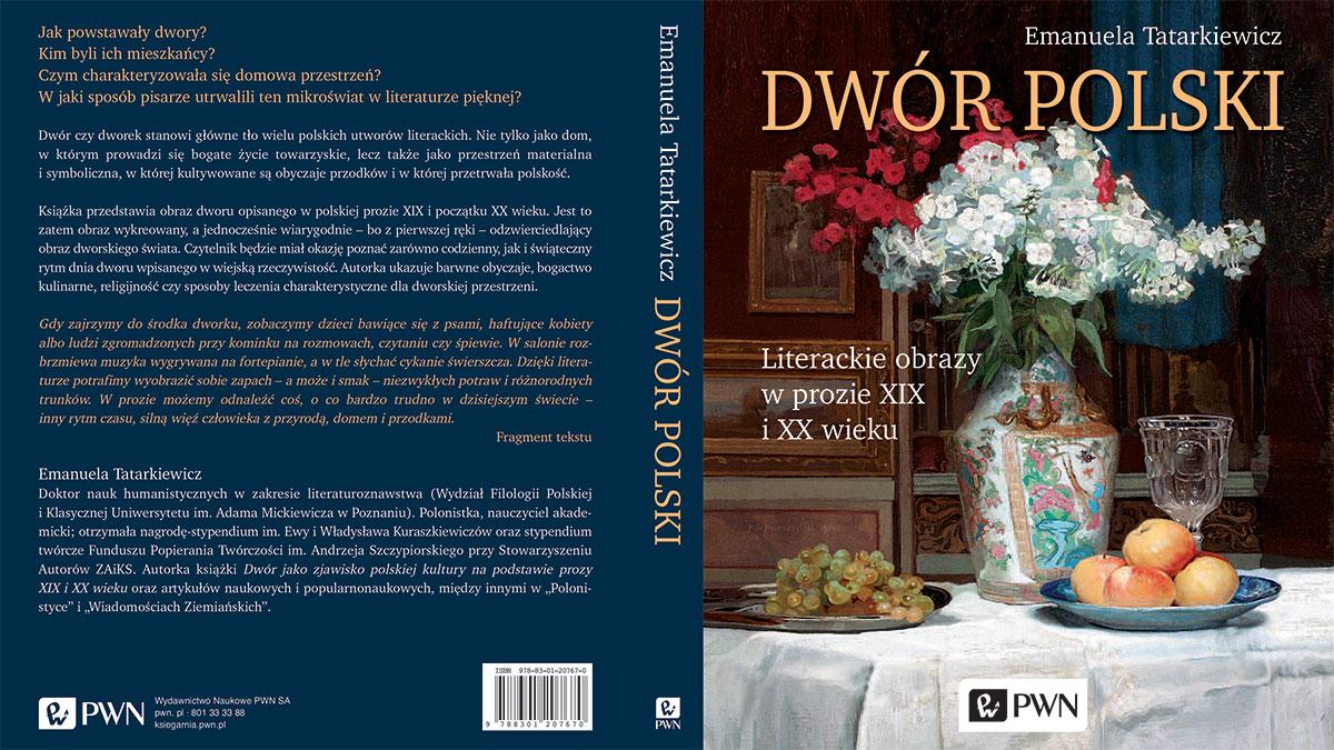 Prezent pod choinkę - książka o dworkach w literaturze polskiej XIX i XX w. ilustrowana malarstwem polskim
