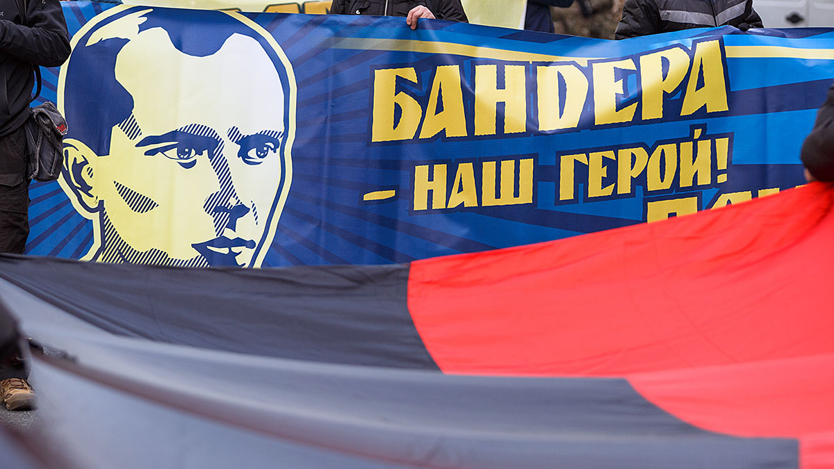 Bandera i Szuchewycz mają ulice w stolicy Ukrainy