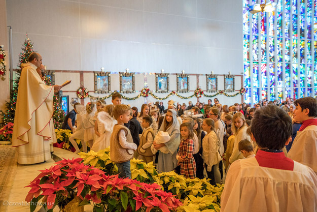 Christmas at the Shrine of Our Lady of Czestochowa in Doylestown, PA