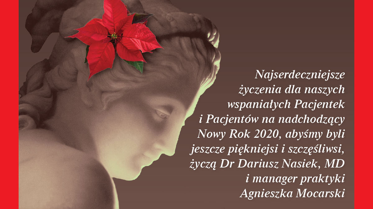 Dr. Nasiek z kliniki medycyny estetycznej Aesthetic Medicine For You w NJ składa Polonii życzenia