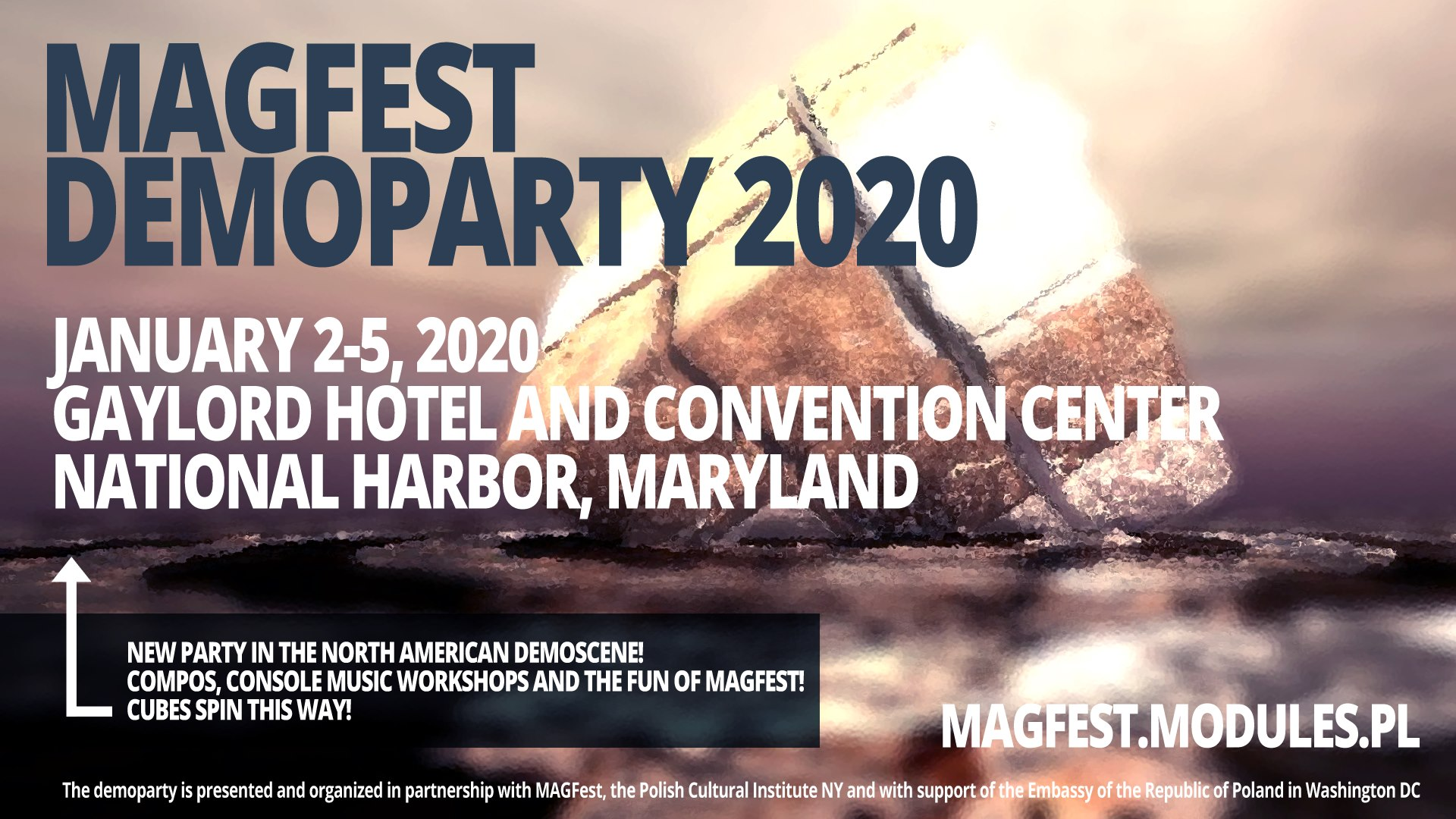MAGFest Demoparty 2020, Led by Polish Demoscene Gurus, in National Harbor, MD