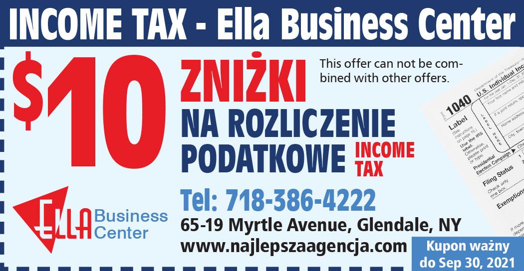 Rozliczanie podatków i ubezpieczenia w Nowym Jorku w Ella Business Center
