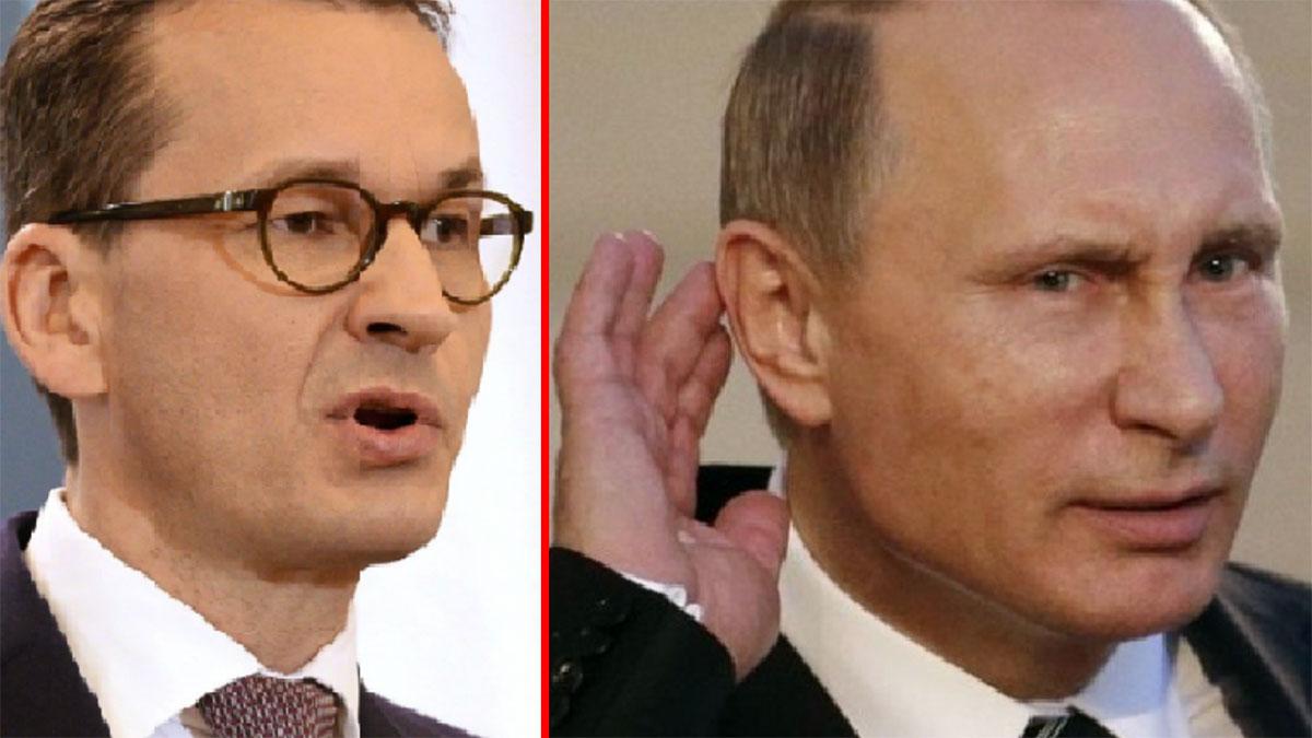 Morawiecki odpowiada Putinowi