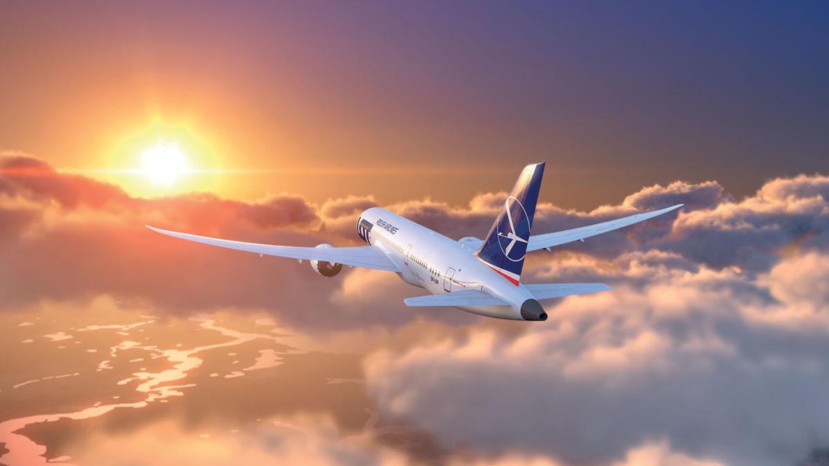 PLL LOT 2020: Nowe bezpośrednie loty z Waszyngtonu do Warszawy