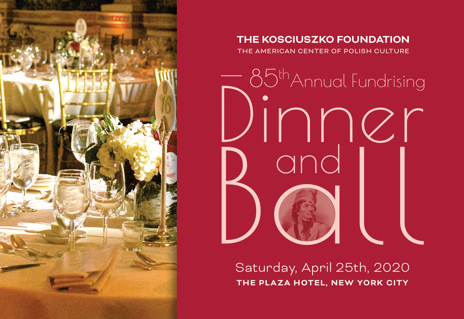 The KF 85th Annual Fundraising Dinner and Ball in New York City
