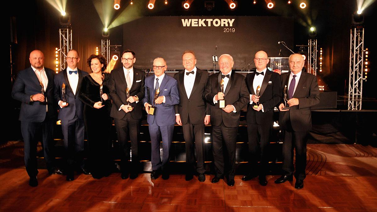 Laureaci Wektorów 2019 i 30-lecia: Daniel Obajtek, Krzysztof Inglot, Antoni Kubicki, Zbigniew Grycan, Sobiesław Zasada...