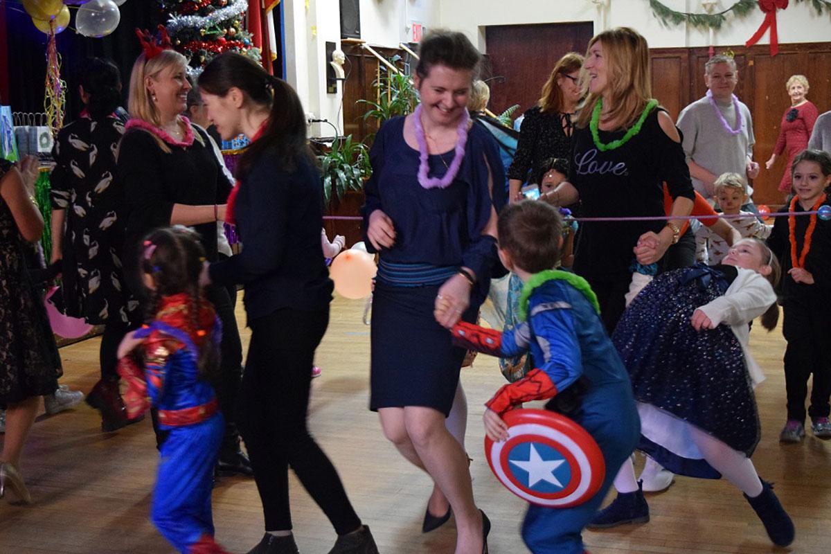 Karnawał dla dzieci na Greenpoincie