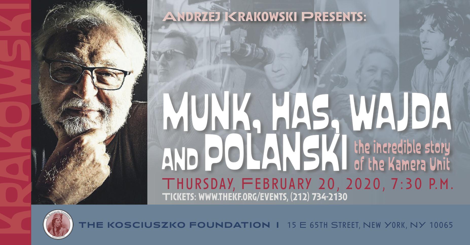 Andrzej Krakowski Presents... at The Kosciuszko Foundation