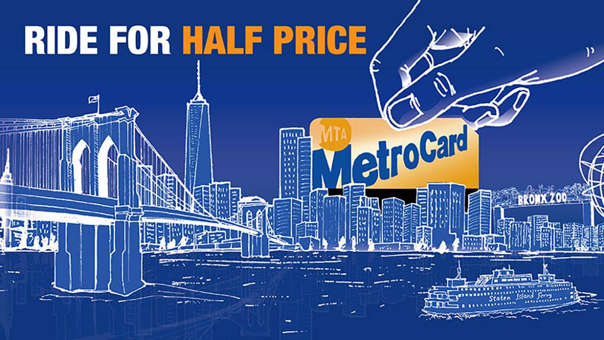 Tanie przejazdy w Nowym Jorku. Z MetroCard za połowę ceny