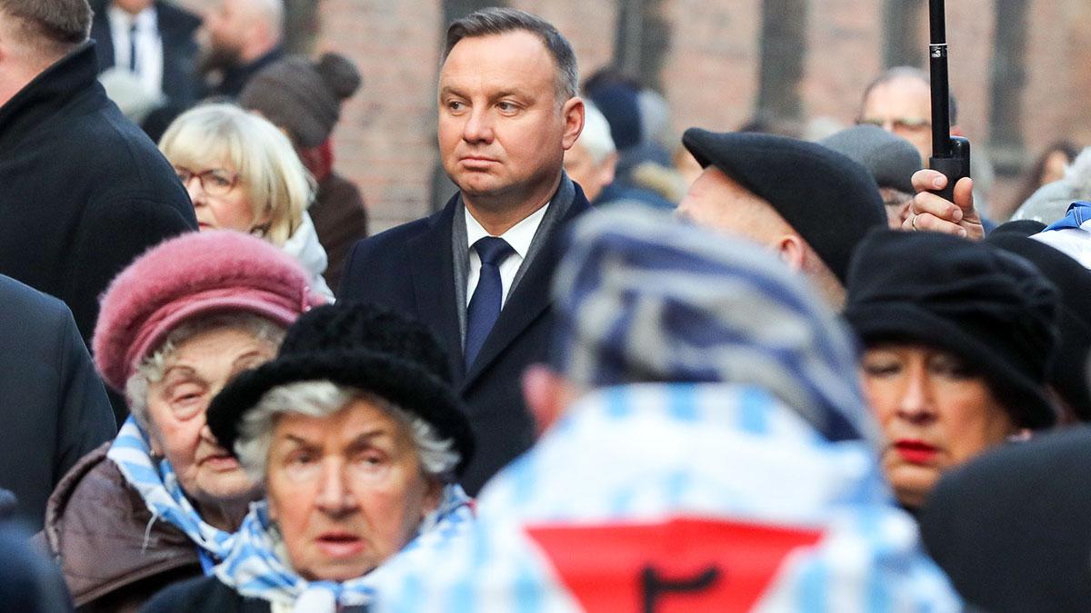 Prezydent RP rozpoczął obchody 75. rocznicy wyzwolenia niemieckiego obozu koncentracyjnego Auschwitz-Birkenau