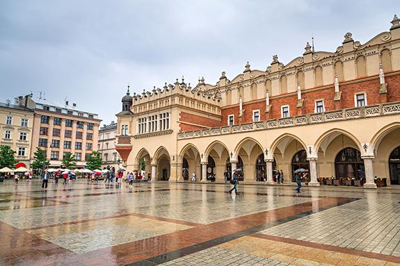 Turyści z Chin dla krakowskich zabytków