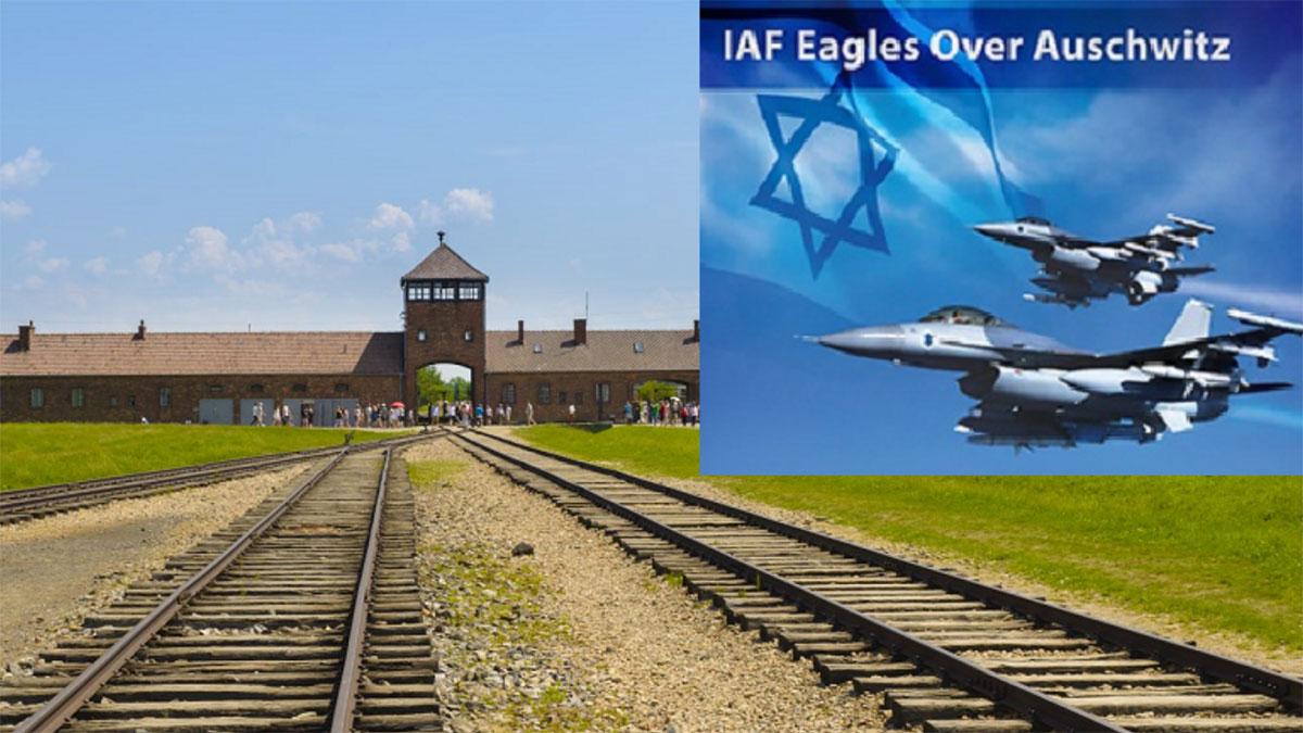 Izraelskie F-15 nad KL Auschwitz. Akt pamięci z 2003 roku