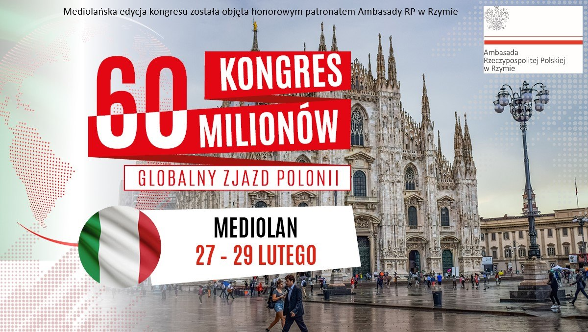 Global Polonia Summit in Mediolan - 60 Million Congress 2020