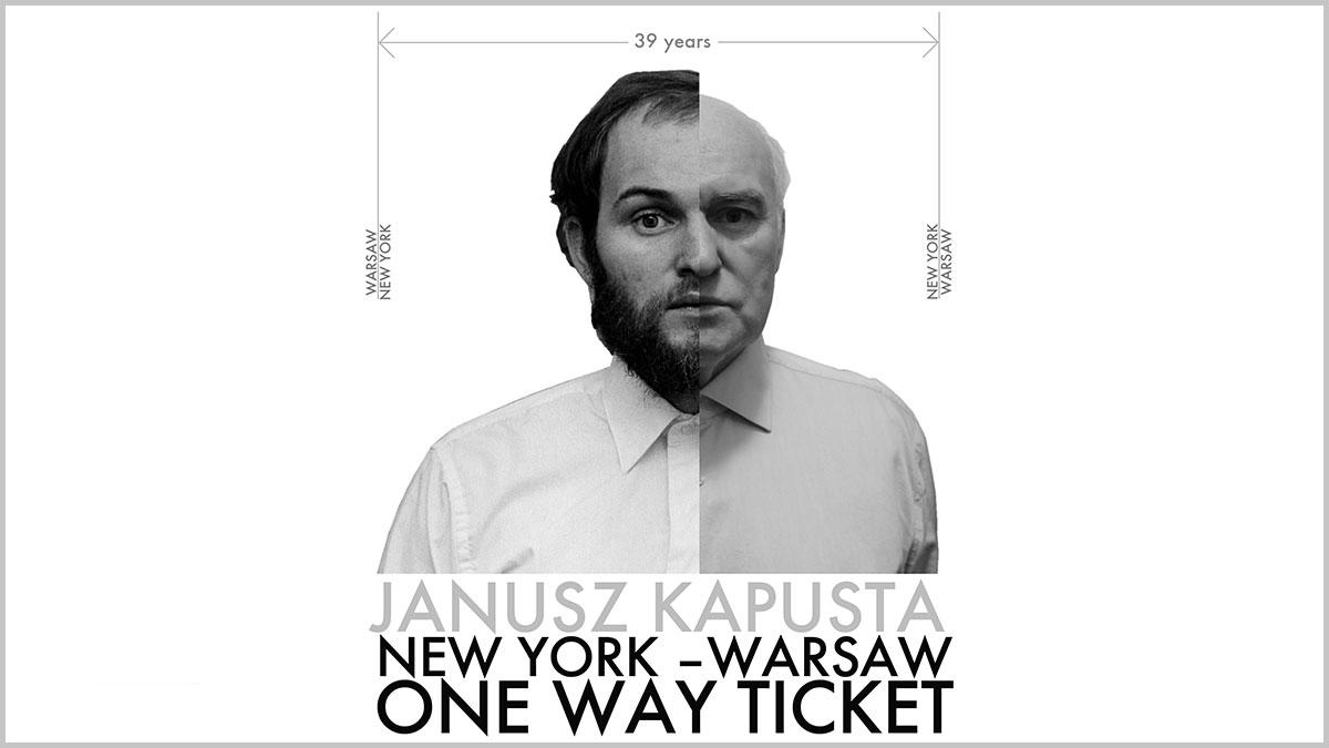 Druga emigracja Janusza Kapusty. Pożegnanie z Polonią w Nowym Jorku