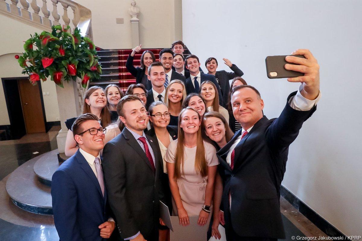 Stypendium  dla studentów uczelni wyższych w USA, pod patronatem Prezydenta RP