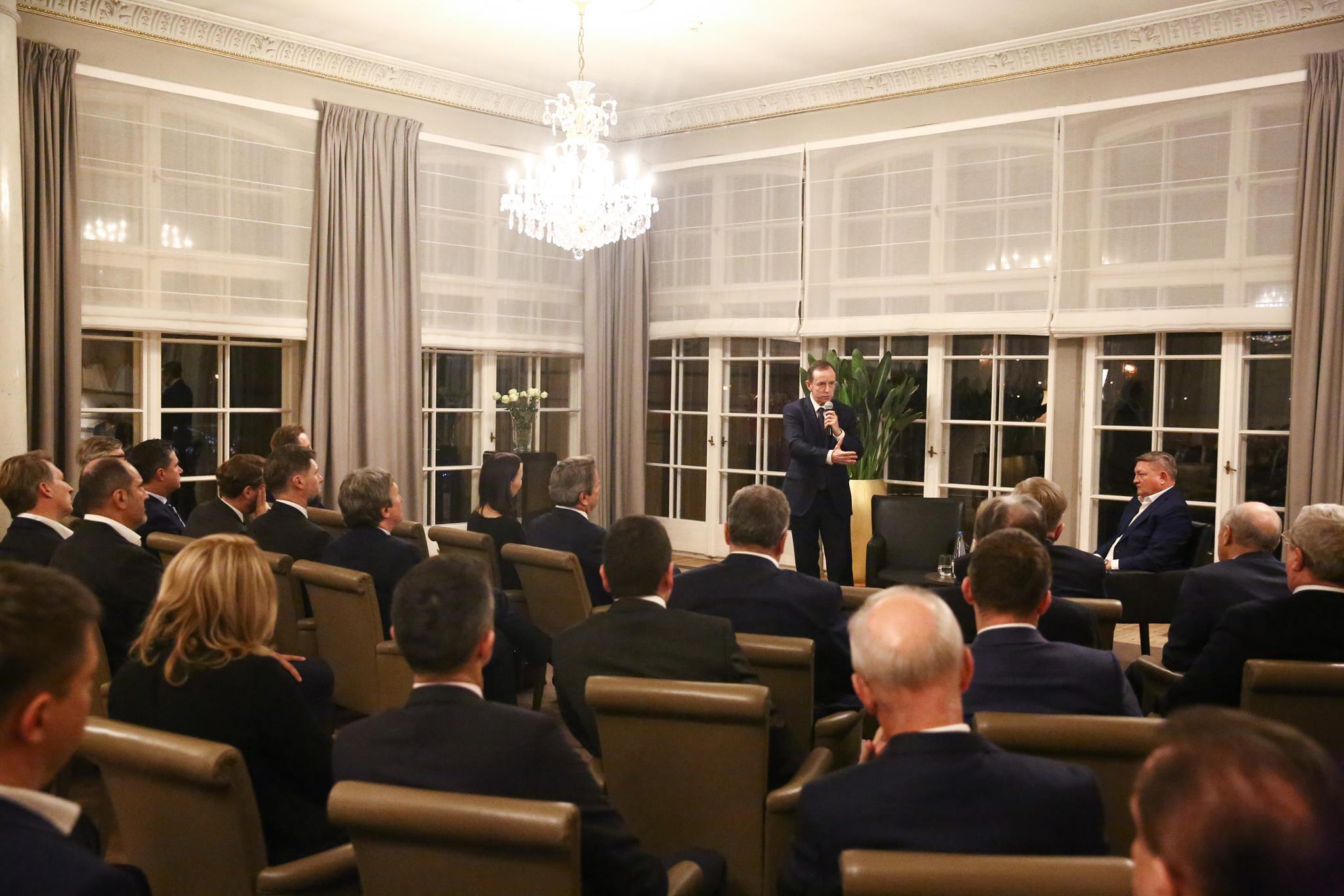 Marszałek Senatu Tomasz Grodzki spotkał się z polskimi biznesmenami