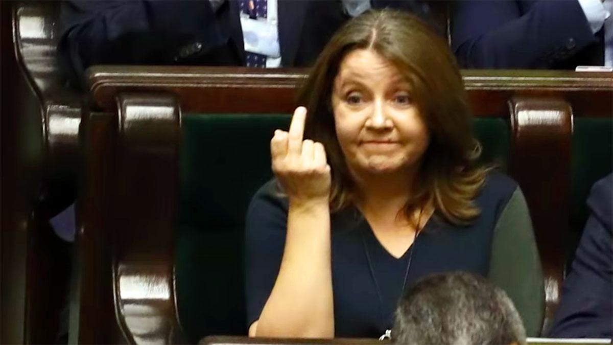 Czar palca w Sejmie RP