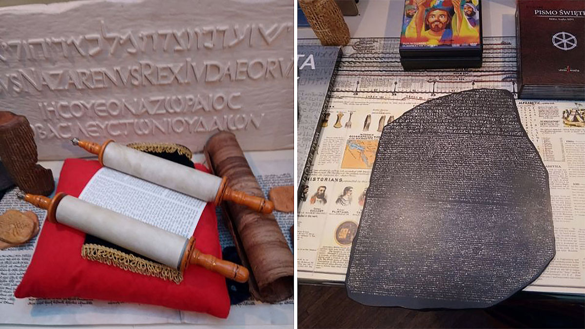 Biblia. Księga nad księgami - skarżyska wystawa