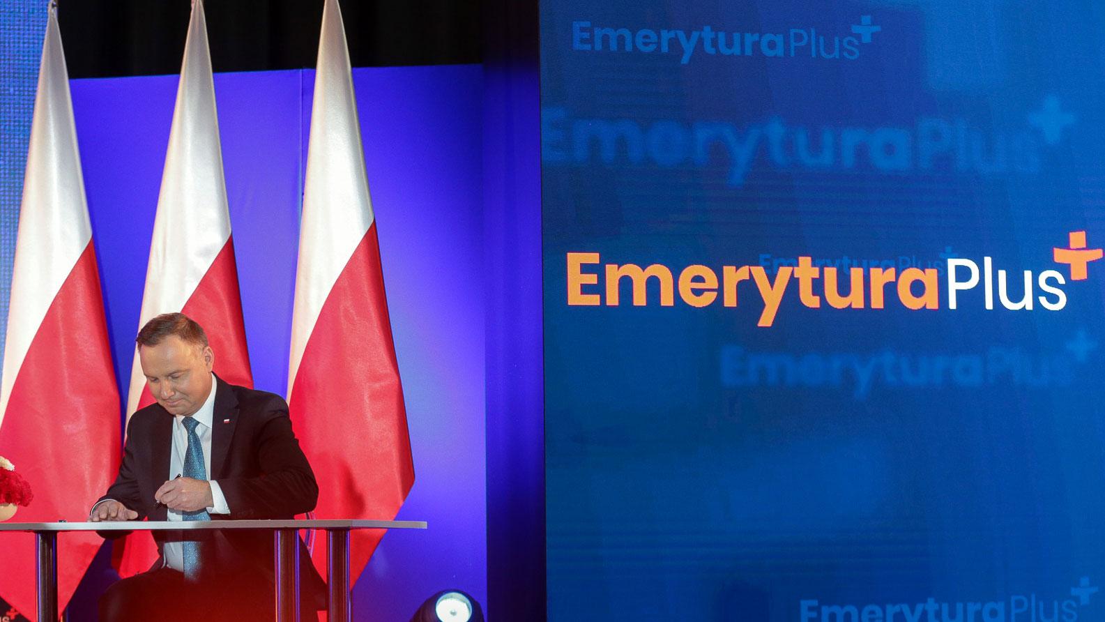 Emerytura Plus dla blisko 10 mln emerytów i rencistów w kwietniu 2020