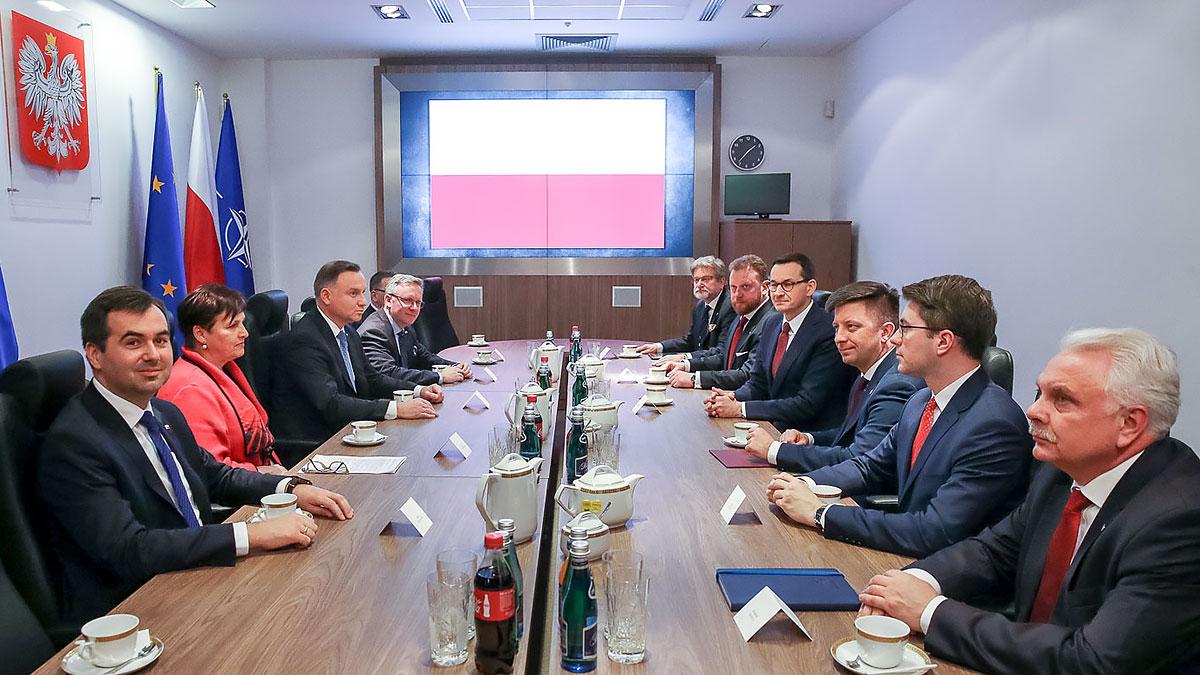 Prezydent Duda wzywa o specjalne sesji Sejmu w sprawie koronawirusa