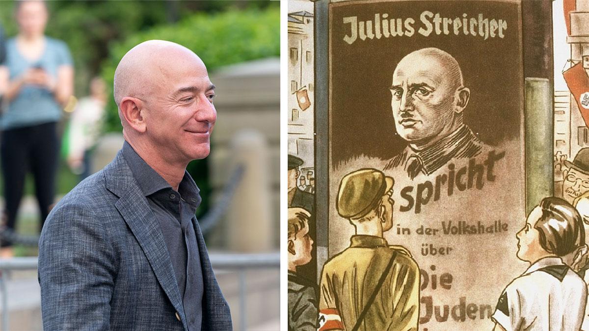 Julius Streicher popędzony z sieci Amazon Jeffa Bezosa