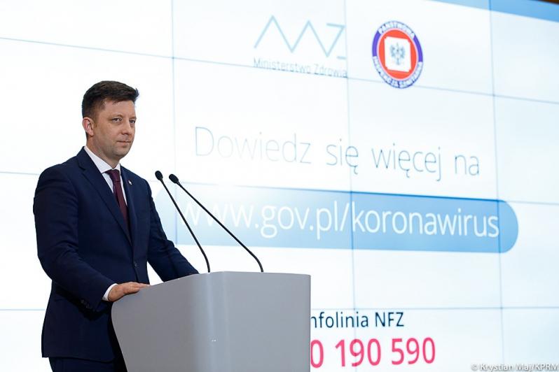 Konferencja informacyjna ws. Koronawirusa w Polsce