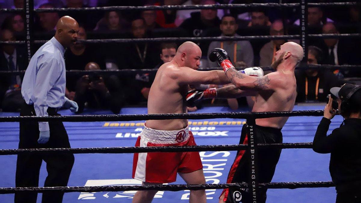 Przegrana Adama Kownackiego z Robertem Heleniusem w Barclays Center (Zdjęcia)