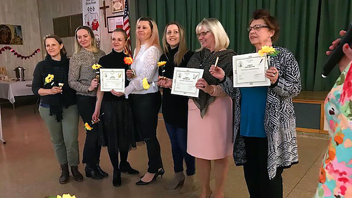 Dzień Kobiet w Polskiej Szkole im. K. Pułaskiego na Brooklynie