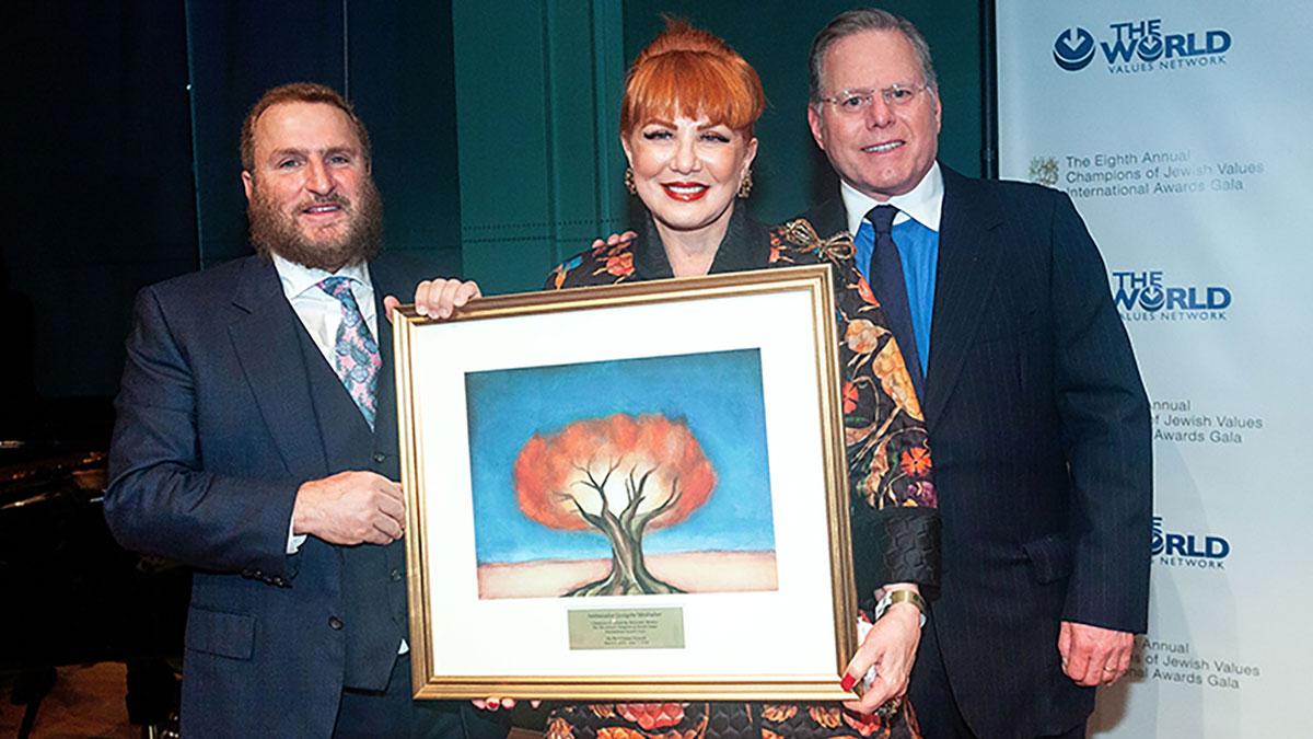 Ambasador Georgette Mosbacher nagrodzona za promowanie pamięci o Holokauście