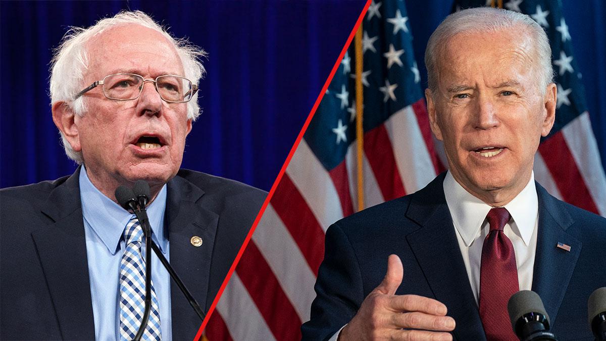 Biden wygrywa z Sandersem w czterech stanach