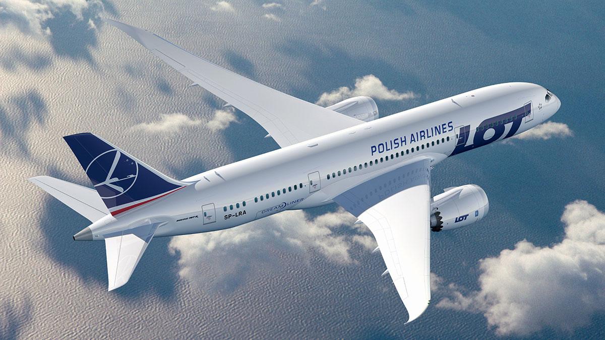 PLL LOT odwołał loty z Nowego Jorku w ramach akcji #lotdodomu z dniem 21 marca