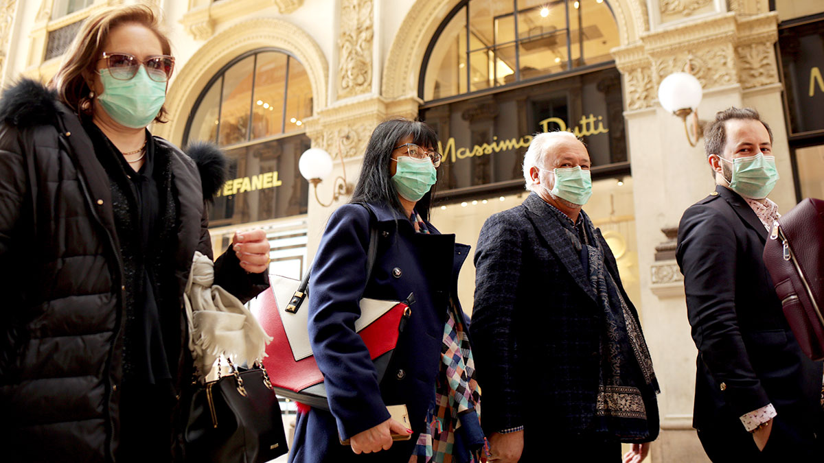 Wirusowy kryzys w Europie