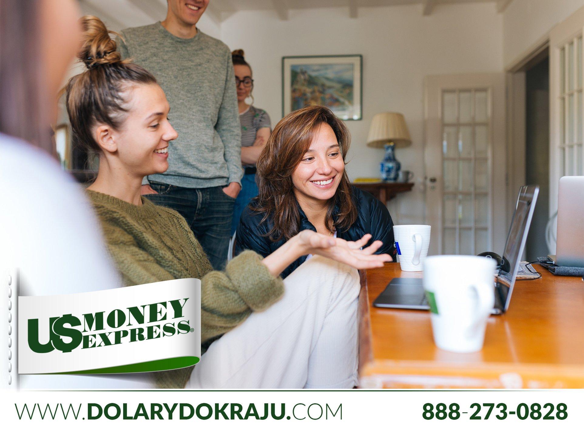 Wysyłka pieniędzy z USA do Polski bez wychodzenia z domu