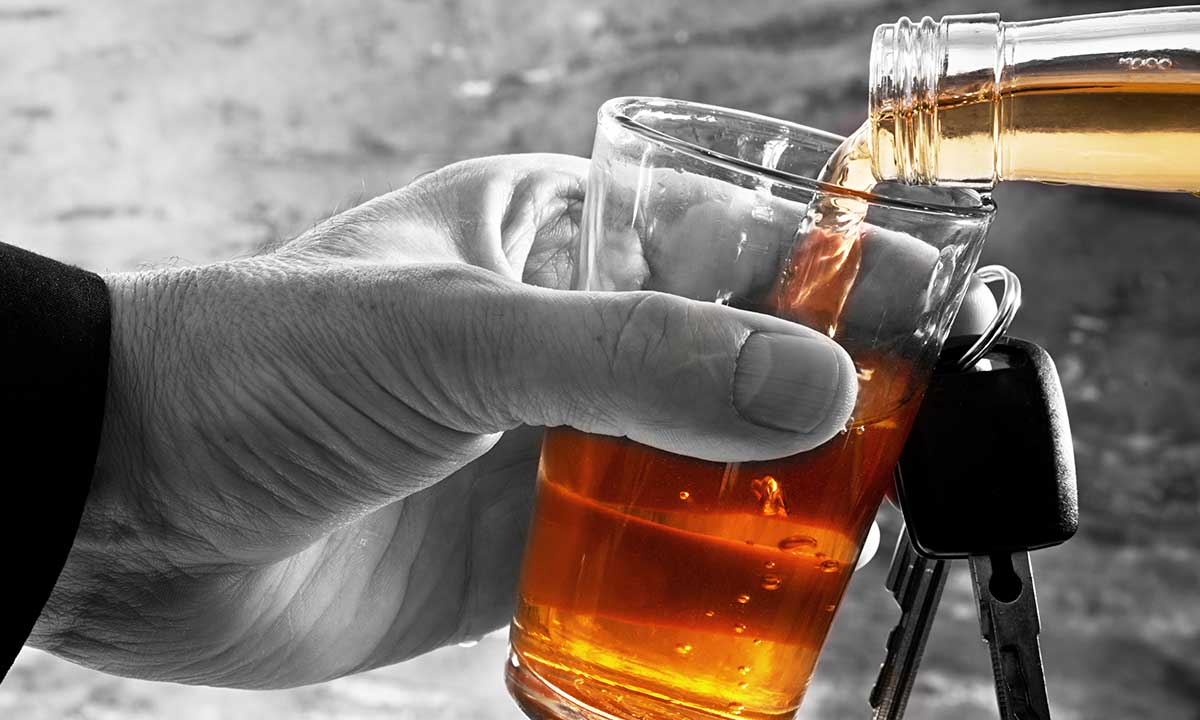 Na feldze po alkohol