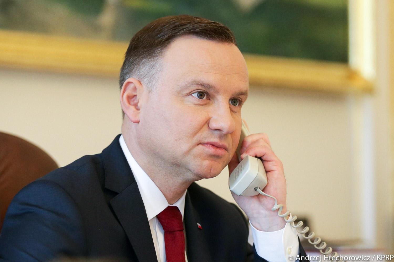 """Prezydent RP chce aby Marszałek Senatu jak najszybciej procedował """"tarczę antykryzysową"""""""