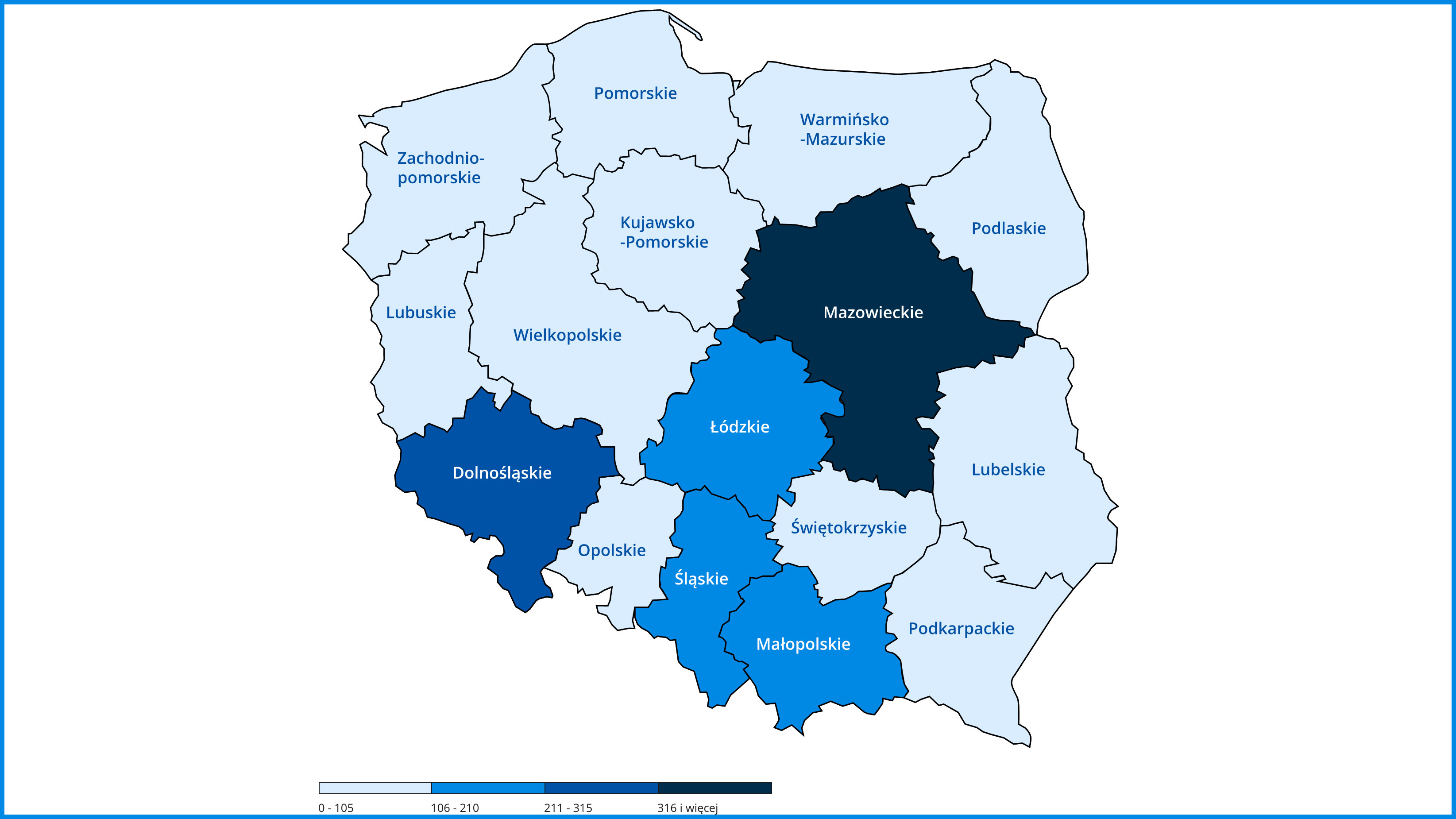 Statystyki zarażenia koronawirusem (SARS-CoV-2) w Polsce
