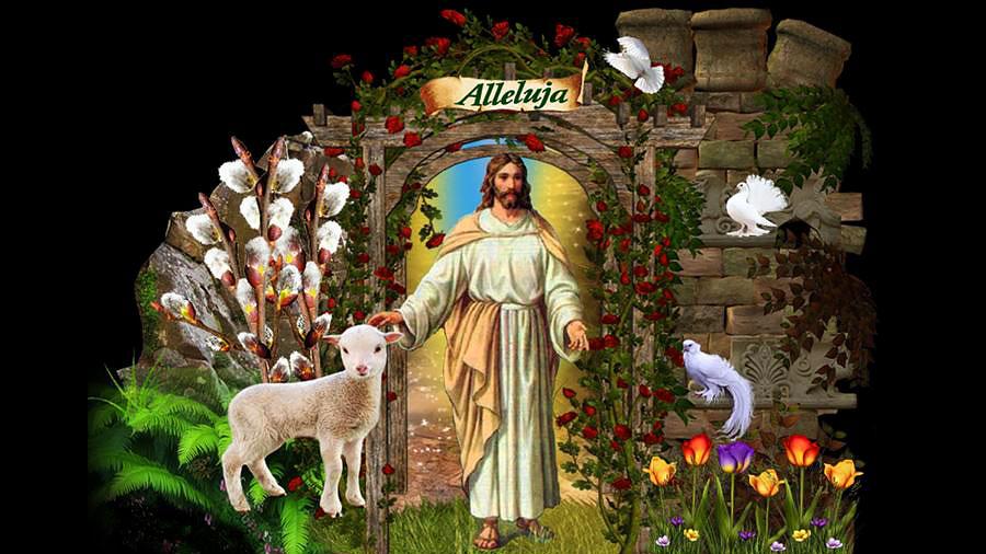 Chrystus Zmartwychwstał!Alleluja!