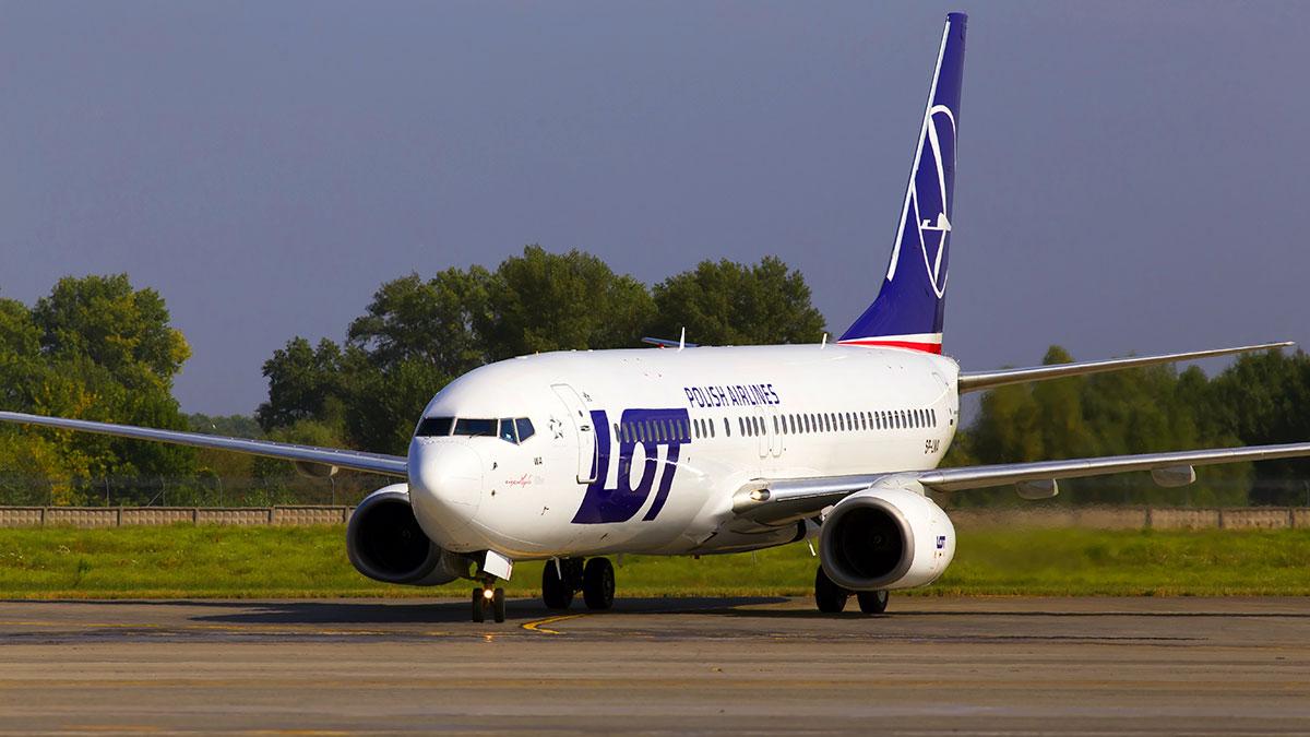 Lot czarterowy PLL LOT z Warszawy do Chicago 24 kwietnia