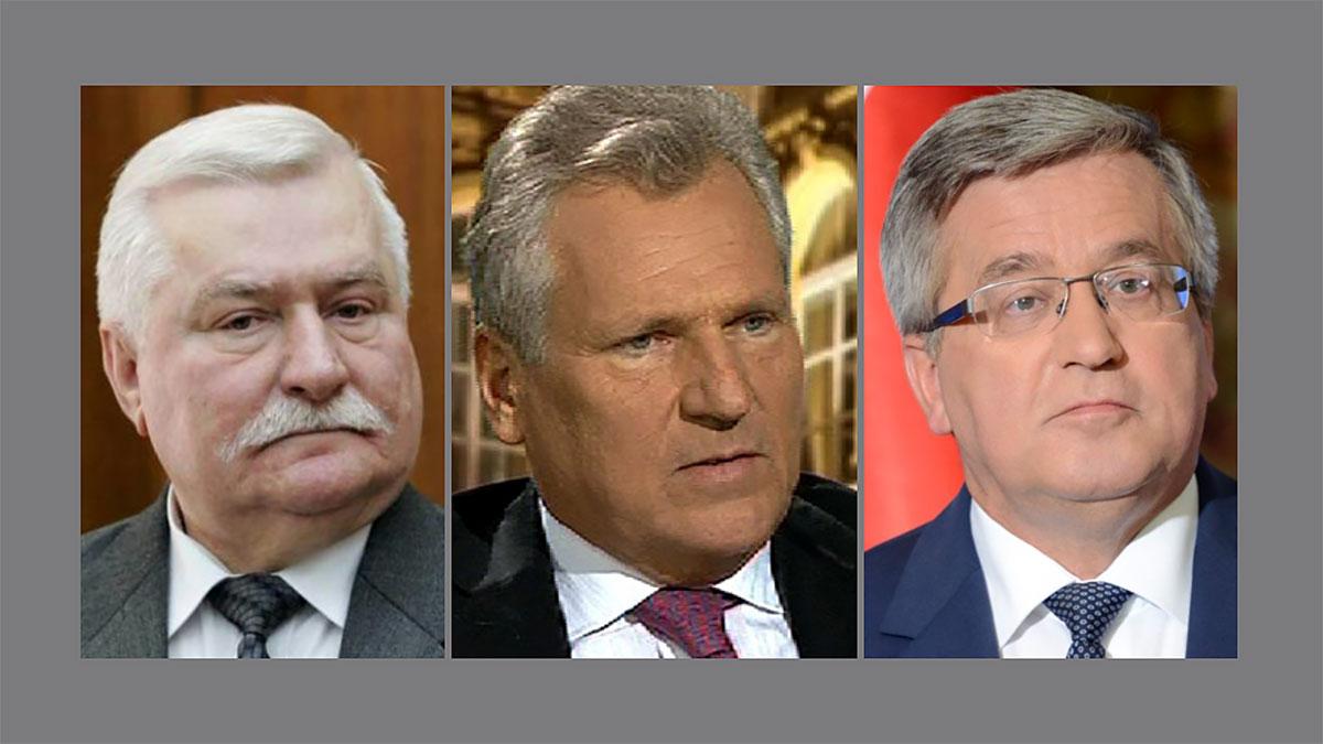 Byli prezydenci i premierzy RP nie biorą udziału w takich wyborach