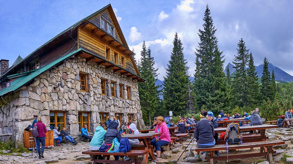 Shelter Murowaniec in Tatra Mountain. Foto: Ryszard Stelmachowicz