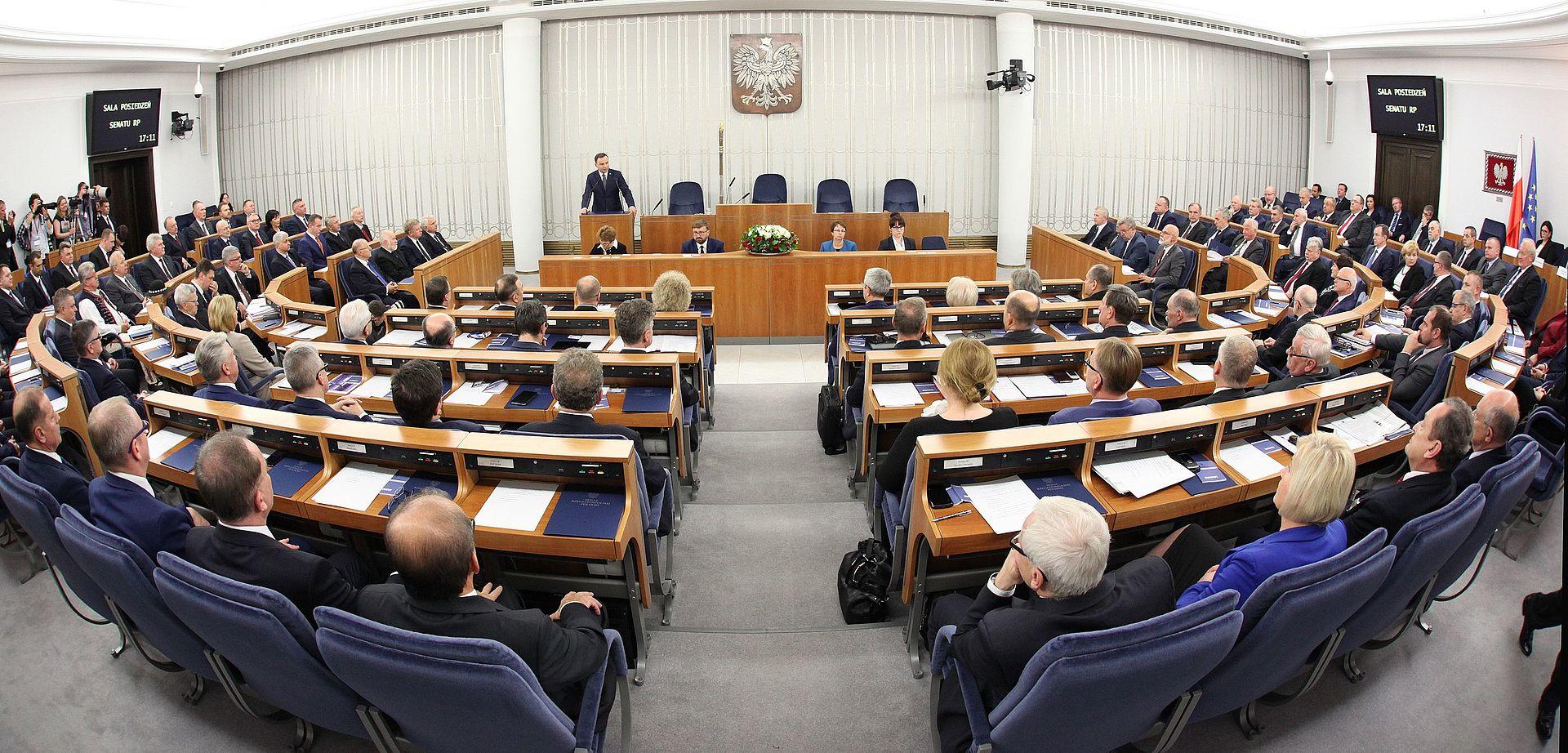 Ustawa o głosowaniu kopertowym odrzucona przez Senat RP
