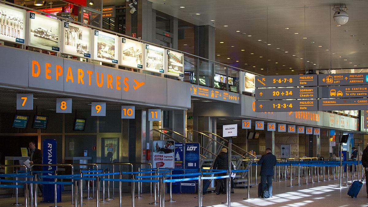 Pustka na krakowskim lotnisku