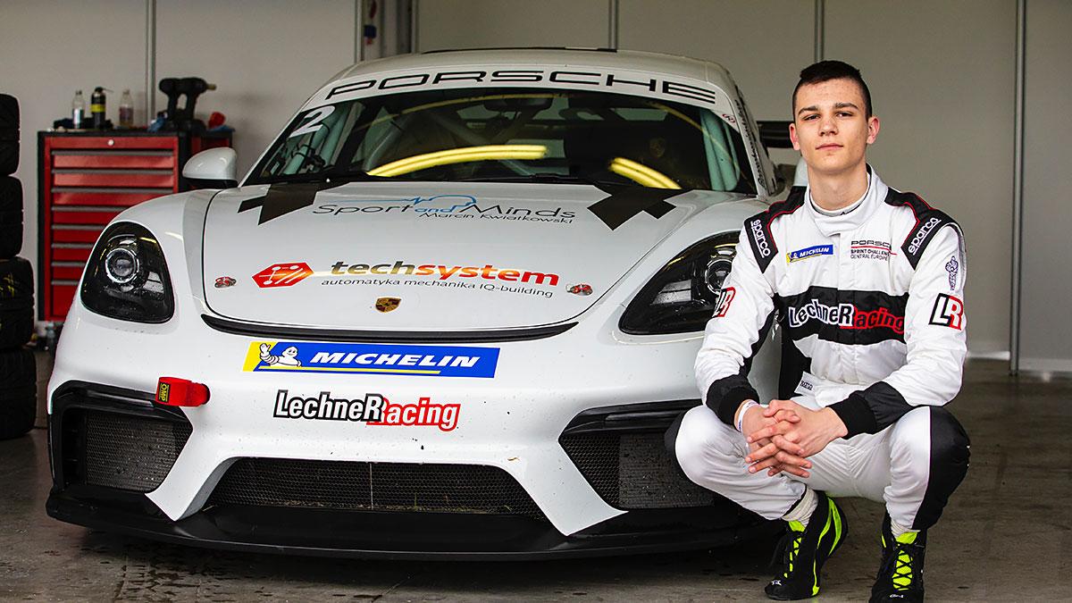 Kartingowy mistrz Polski zmierzy się z gwiazdami F1