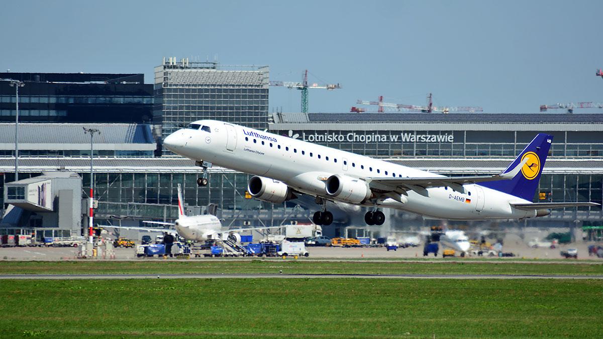 Od czerwca Lufthansa połączy Frankfurt z Krakowem i Warszawą