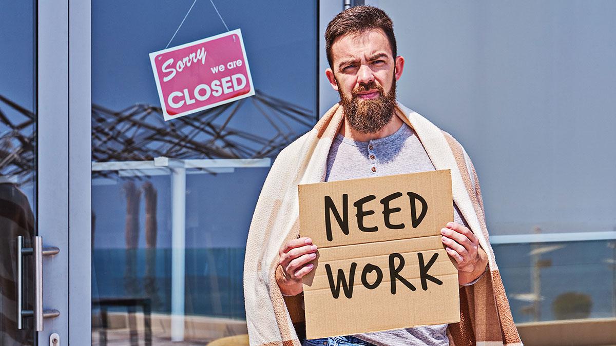 W czasie kiedy ponad 100 tysięcy Amerykanów straciło życie, ponad 40 milionów straciło pracę