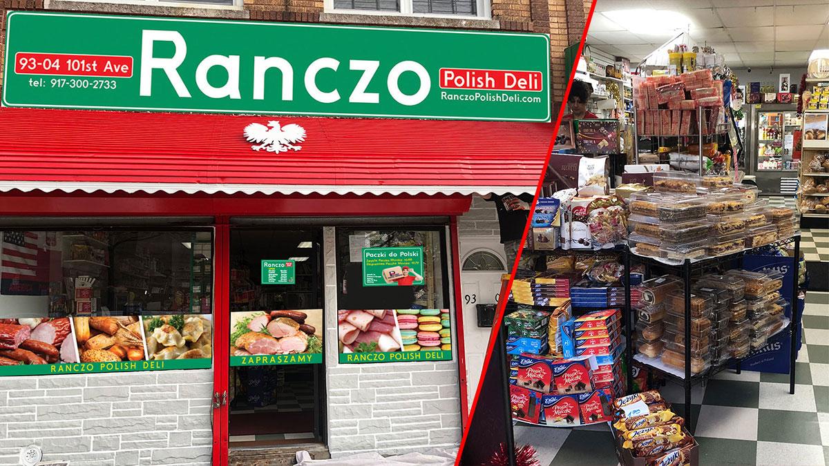 Polski sklep Ranczo i agencja na Ozone Park w Nowym Jorku zaprasza