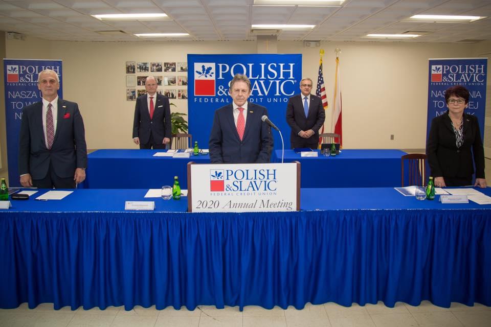 Nowi dyrektorzy Zarządu Rady Polsko-Słowiańskiej Federalnej Unii Kredytowej w USA
